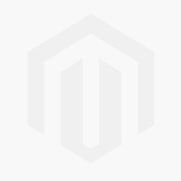 Navy trainers with golden logo embroidered on the side, front